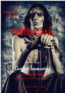 "Gothic Immortal, the first LIason, or novella, in The Necropath series, introduces us to Gothic or ""Goth"", a creature upon whom the vampire myth was born. He is vicious, bloodthirsty, and very, very real."